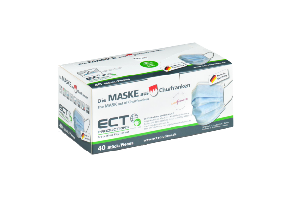 MNS Type II R - Certified mask - dispenser box - carton